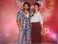 Ram Leela promotions at Infiniti Mall 2 in Malad Photos