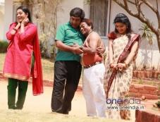 Rangayana Raghu and Sadhu Kokila in Kannada Movie Chaddi Dosth Photos