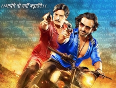 Saif and Jimmy Shergill film Bullet Raja poster Photos