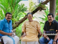 Saikumar, Innocent, Mukesh in Malayalam Movie Mannar Mathai Speaking 2 Photos