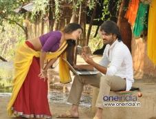 Sharwanand and Anaika Soti still from Telugu Movie Satya 2 Photos