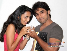 Sindhu Lokanath and Anees Tejeswar at Coffee with my Wife Film Press Meet Photos