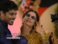 Singer Geetha Madhuri and Actor Nandu Engagement Photos Photos
