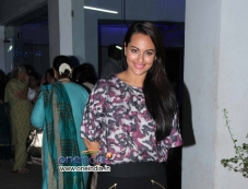 Sonakshi Sinha during the special screening of Bullet Raja Photos