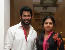 Vishal and Lakshmi Menon Photos