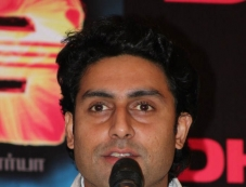Abhishek Bachchan at Dhoom 3 film promotion at Chennai Photos