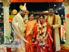 Brahmaji son Wedding Photos Photos