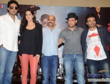 Celebs during the Dhoom 3 film promotion at Hyderabad Photos