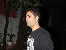 Karan Johar snapped at Olive Photos
