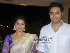 Sneha and Prasanna at Shraddha Ashwin Raghav Reception Photos