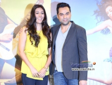 Preeti Desai and Abhay Deol at the trailer launch of film One By Two Photos