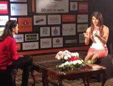 Priyanka Chopra speaks at Agenda Aaj Tak 2013 summit Photos