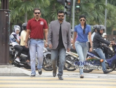 Sarath Kumar in Malayalam Movie Asha Black Photos