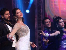 Shahrukh Khan and Deepika Padukone snapped at Access All Areas concert Photos