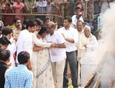 Akkineni Nageswara Rao's Cremation Photos