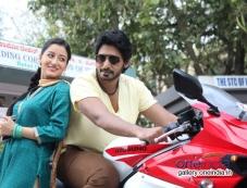 Ankitha Maheshwari and Prajwal Devaraj in Kannada Movie Nee Naade Naa Photos