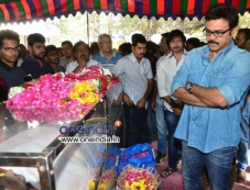 Venkatesh pays tribute to Uday Kiran Photos