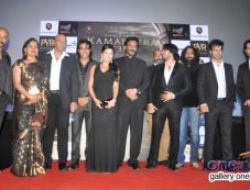 Celebs at the trailer launch of film Kamasutra 3D Photos