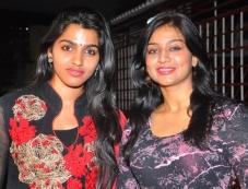Dhansika and Varsha Ashwati at the Alandur Fine Arts Awards Photos