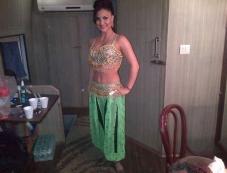 Elli Avram backstage at Saifai Mahotsav Photos