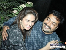 Huma Qureshi and Anurag Kashyap at the special screening of American Hustle Photos