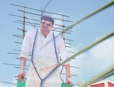 Jilla film celebration 80 feet cut out Photos
