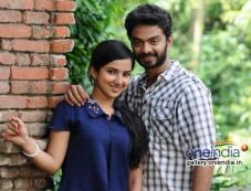 Leelma and Vinod Kishan still from film Yazh Photos