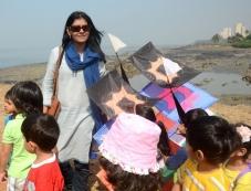 Nandita Das during the 26th edition of International Kite festival organised by Gujarat Tourism Photos