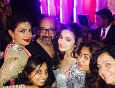 Priyanka Chopra and Alia Bhatt snapped at a wedding in Udaipur Photos