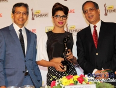 Priyanka Chopra during the press conference of 59th Idea Filmfare Awards 2013 Photos