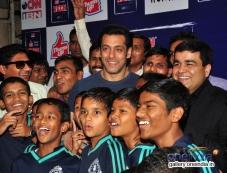 Salman Khan at Jai Ho special screening for NGO Kids Photos