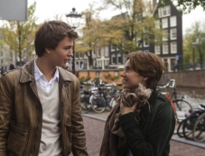 Shailene Woodley and Ansel Elgort in The Fault in Our Stars Photos