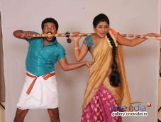 Soorya Prabhu and Deepika Das in Kannada Movie Cycle Gapalli Photos