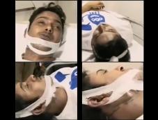 Uday Kiran dead body visuals Photos