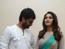 Nani and Vaani Kapoor at Aaha Kalyanam Press Meet Photos