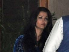 Aishwarya Rai Bachchan at Abhishek Bachchan 38th birthday bash Photos