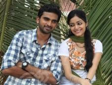 Ashok Selvan and Janani Iyer still from Thegidi Photos