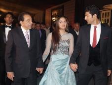 Dharmendra at Ahana Deol's Delhi wedding reception Photos