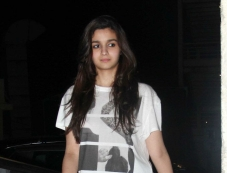 Alia Bhatt during the Highway special screening at PVR Photos