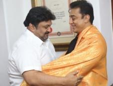 Celebs Greeting Kamal Hassan for Padma Bhushan Award Photos
