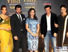 Bipasha, Anil, Madhuri, Saif and Kareena at IIFA 2014 press conference Photos
