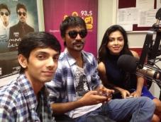 Dhanush, Amala Paul and Anirudh at Velai Illa Pattathari audio launch Photos