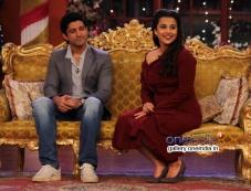 Farhan Akhtar and Vidya Balan on the sets of Comedy Nights with Kapil Photos
