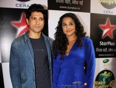 Farhan and Vidya promote their film Shaadi Ke Side Effects on the sets of Nach Baliye 6 Photos
