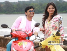 Ganesh and Rachita Ram in Kannada Movie Dil Rangeela Photos
