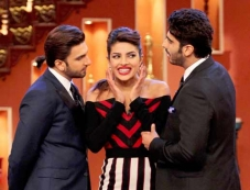 Gunday film promotion on the sets of Comedy Nights with Kapil Photos