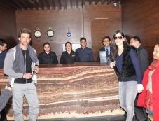 Katrina and Hrithik leave the Marina Hotel in Shimla Photos