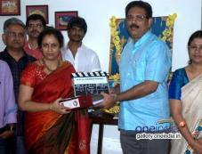 Lakshmi Ramakrishnan's new film launch Photos