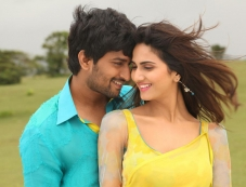 Nani and Vaani Kapoor still from film Aaha Kalyanam Photos