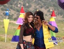 Pranitha and Upendrain Kannada Movie Brahma Photos